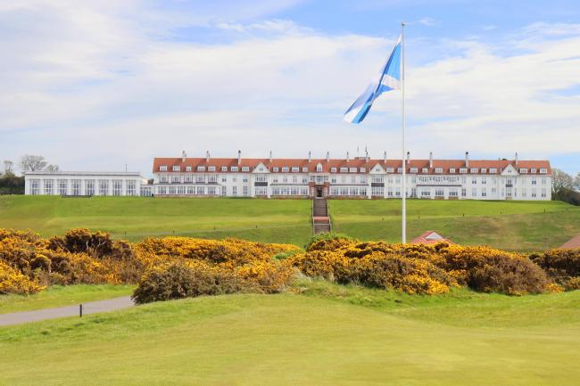 The sum is the result of Turnberry's calendar of fundraising activities