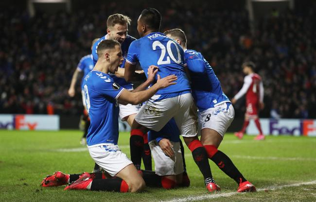 Rangers beat Braga at Ibrox