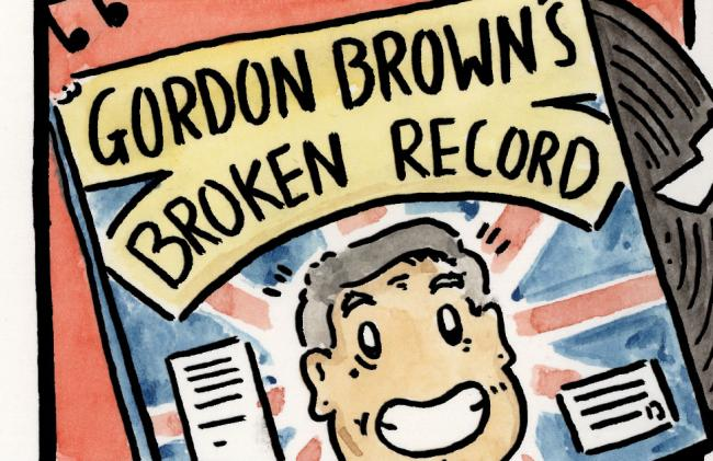 Gordon Brown knows you love listening to the same thing again and again