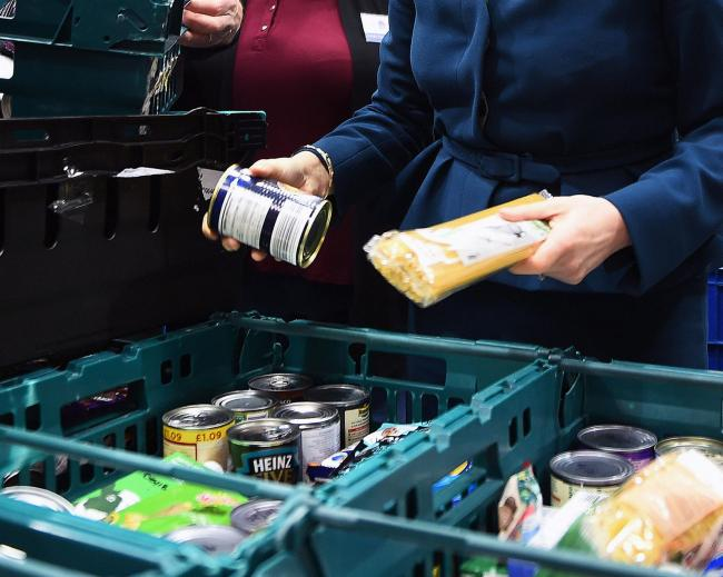 People are continuing to think of others and make donations to food banks