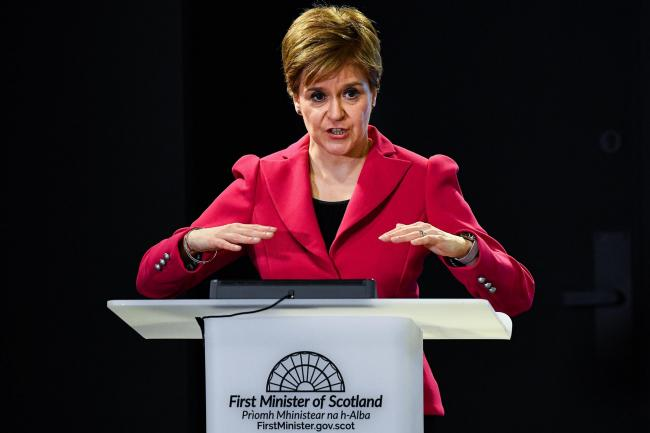 When Nicola Sturgeon announced plans to restrict large gatherings, she spoke with authority about the challenges we face