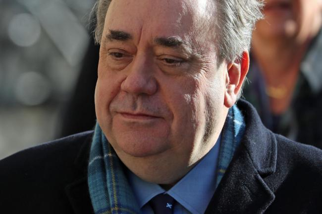 Alex Salmond is now writing a book about the past two years