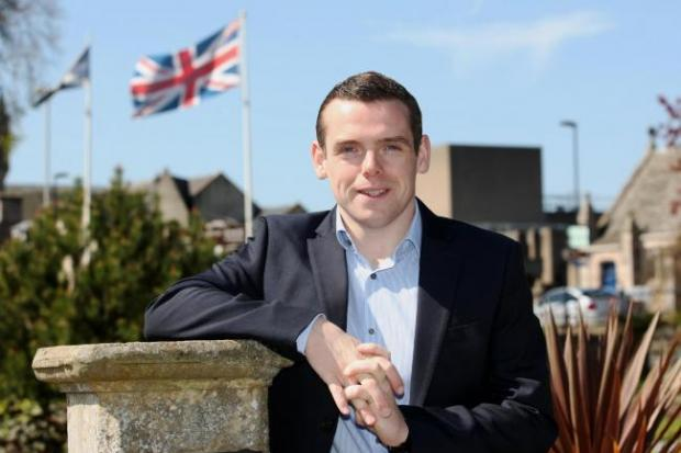 Tory MP Douglas Ross was critical of the First Minister's decision to close most construction sites