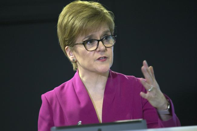 First Minister Nicola Sturgeon outlined the plans today