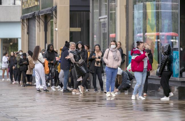 Scots flock to Primark as retailers reopen - leaving people divided