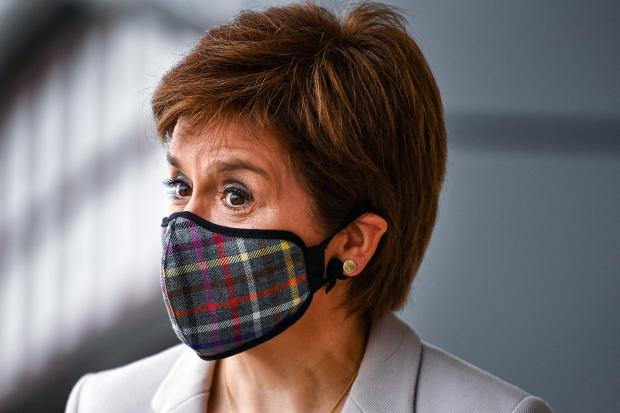 Nicola Sturgeon is expected to introduce a tiered system by the end of the week