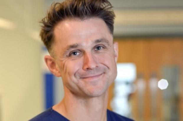 Andrew Mackay has been a doctor in the NHS for near two decades