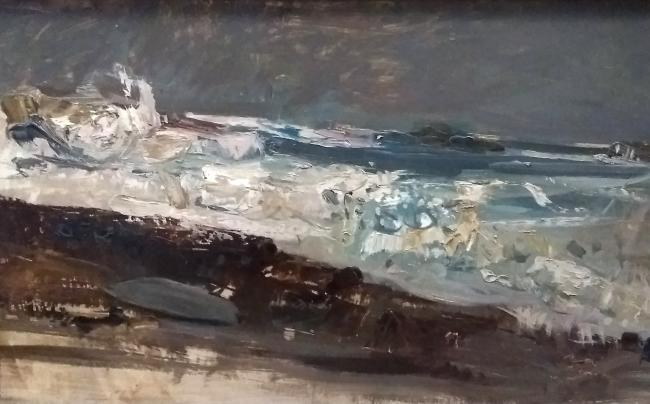 Joan Eardley, A Wave Study, 1957
