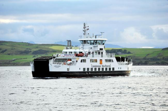 Calmac has been forced to suspend services between Largs and Cumbrae