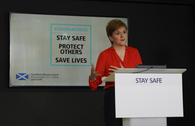 These are the four key points from Nicola Sturgeon's coronavirus briefing