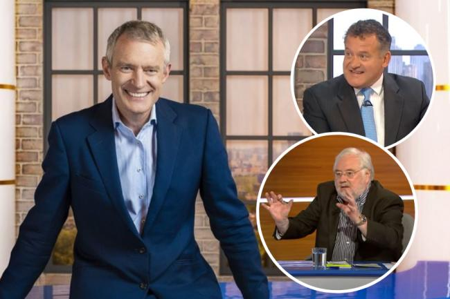 Jeremy Vine has invited constitutional experts Paul Burrell, top right, and Mike Parry, below, to share their views on Scottish independence
