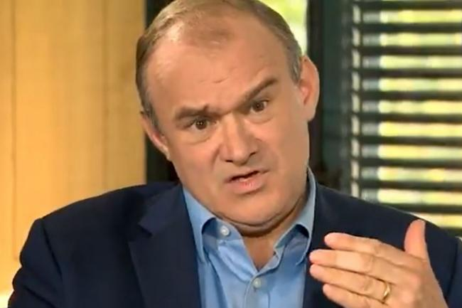 Ed Davey is adamant that Westminster should decide Scotland's future