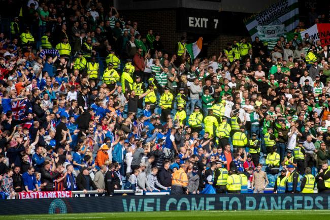 Today's game is the first Celtic-Rangers Glasgow derby to be played without a crowd