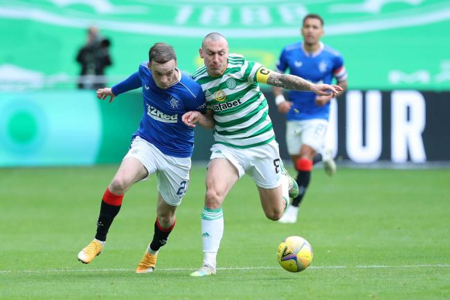 Scott Brown couldn't get Celtic going as they were well beaten by Rangers.
