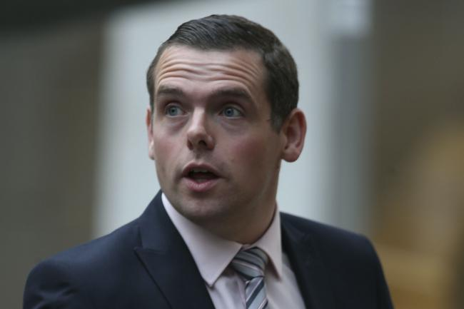Douglas Ross was asked if the UK Government has a strategy to save the Union