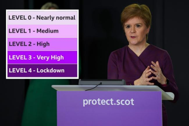 Nicola Sturgeon will give an update on Scotland's Covid levels this afternoon