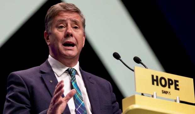 The National: SNP depute leader Keith Brown announced the National Assembly at the party's virtual conference last year