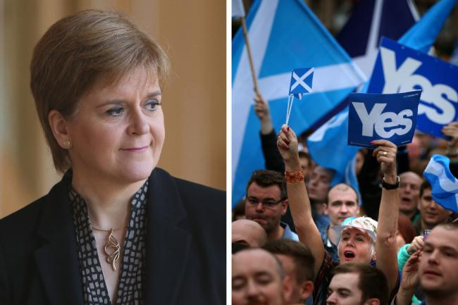 Nicola Sturgeon's party is also planning a major campaign rally