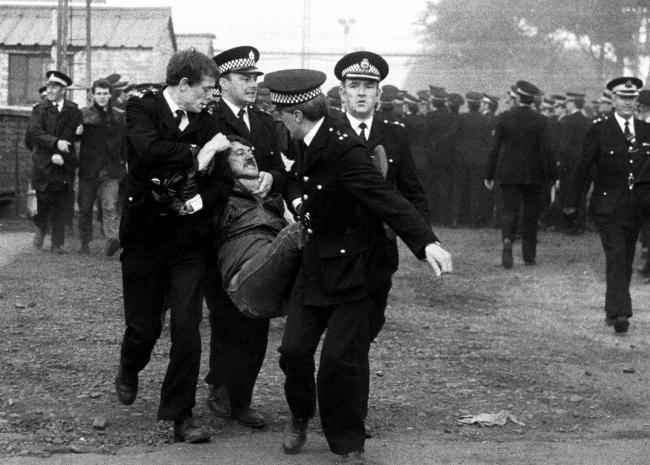 'This was the year that brought us flying pickets, clashes between police and striking miners across the country'