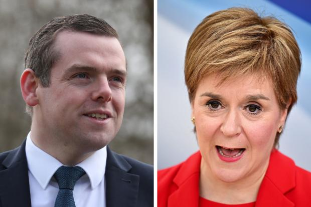 Douglas Ross's claims about Nicola Sturgeon's spending plans don't quite add up