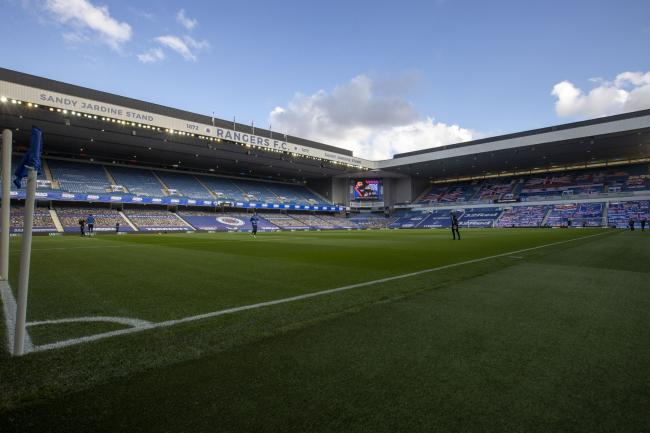 Rangers fans unveil huge new banner inside Ibrox to welcome team ahead of Celtic clash