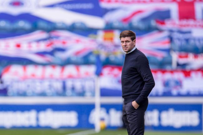 Steven Gerrard was speaking three years on from being appointed Rangers manager