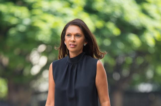 Gina Miller had told the court Philipps's posts left her scared for her safety