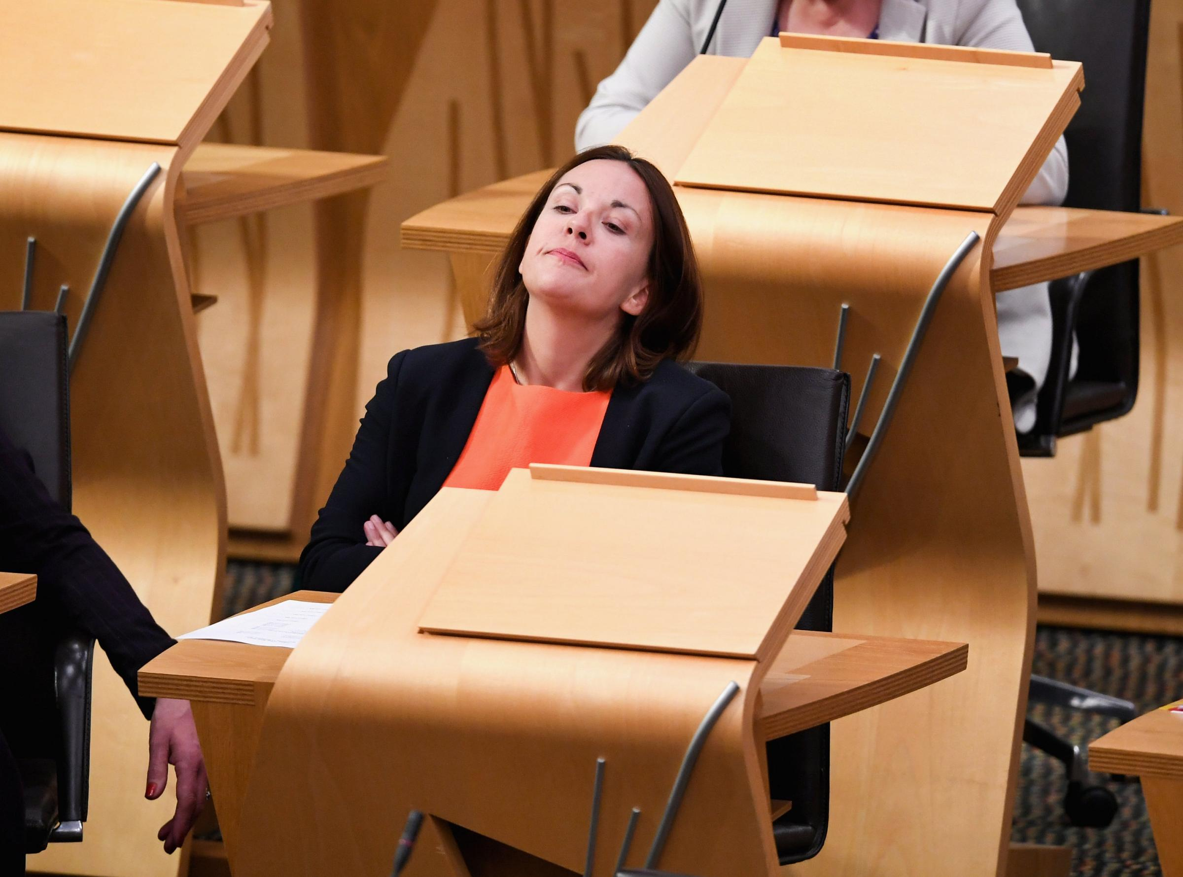 Kezia Dugdale has given £5100 to charity from a fee of about £45,000 after tax
