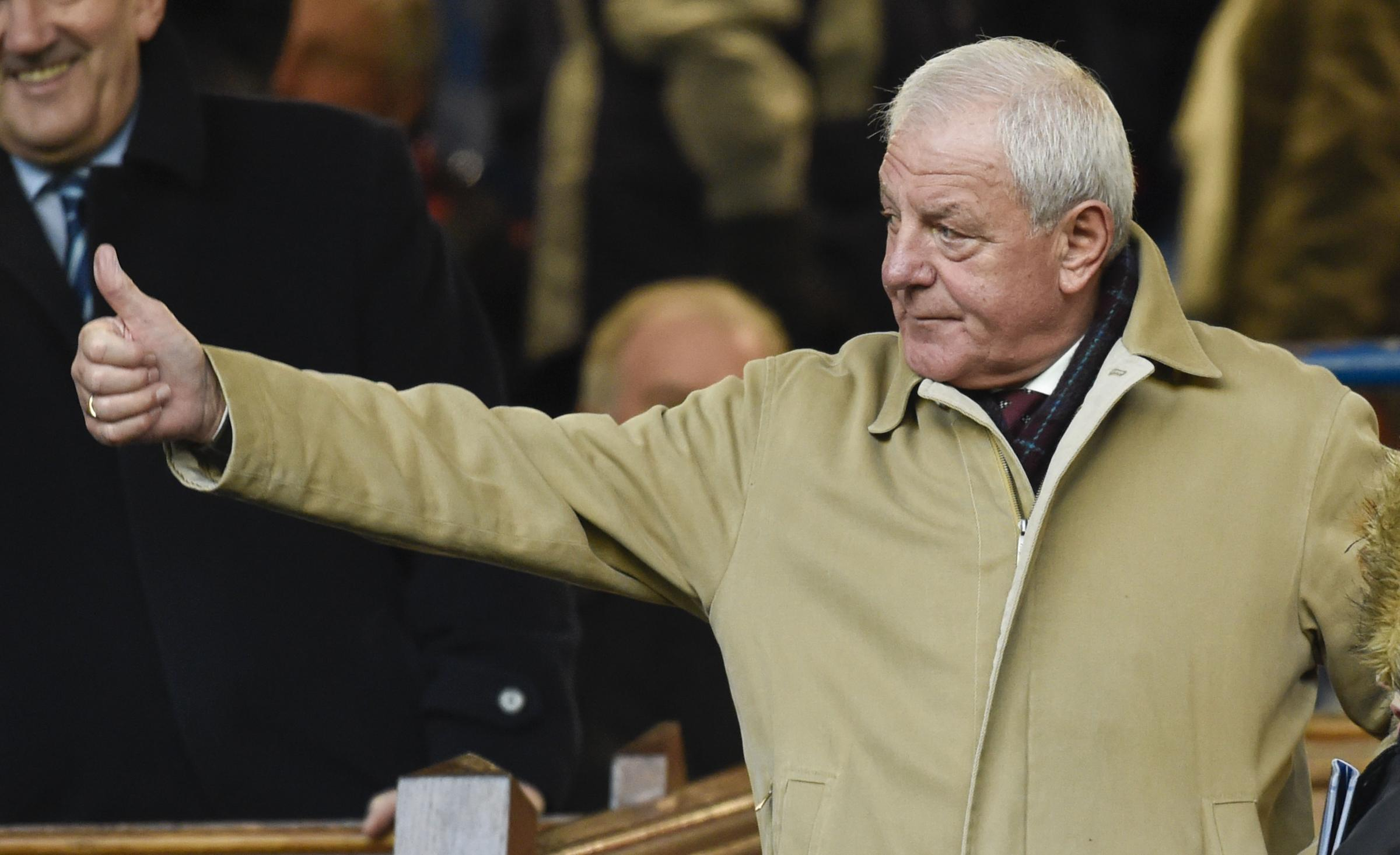 Walter Smith is the current front runner for the managerial vacancy. Photograph: SNS