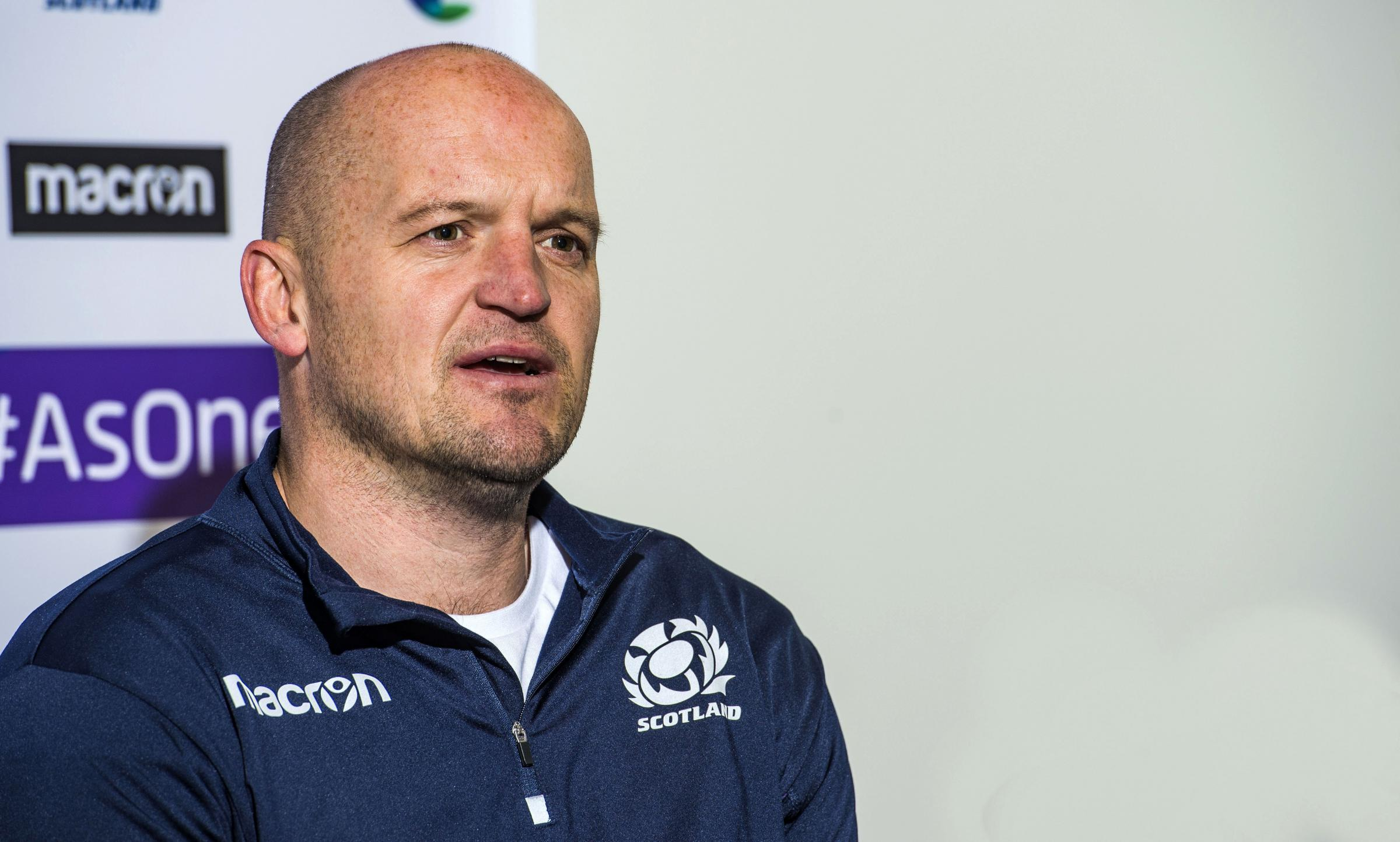 Gregor Townsend is backing his players to bounce back. Photograph: SNS