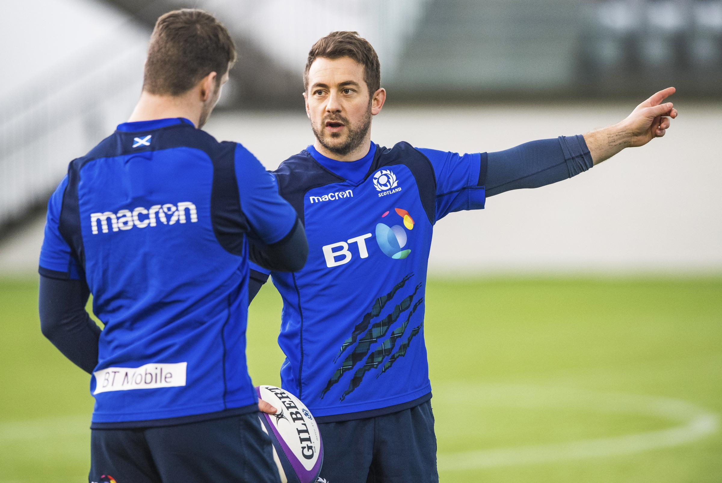 Greig Laidlaw has been restored to the starting XV. Photograph: SNS