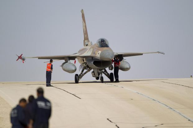 The National: An Israeli Air Force (IAF) F16 jet fighter