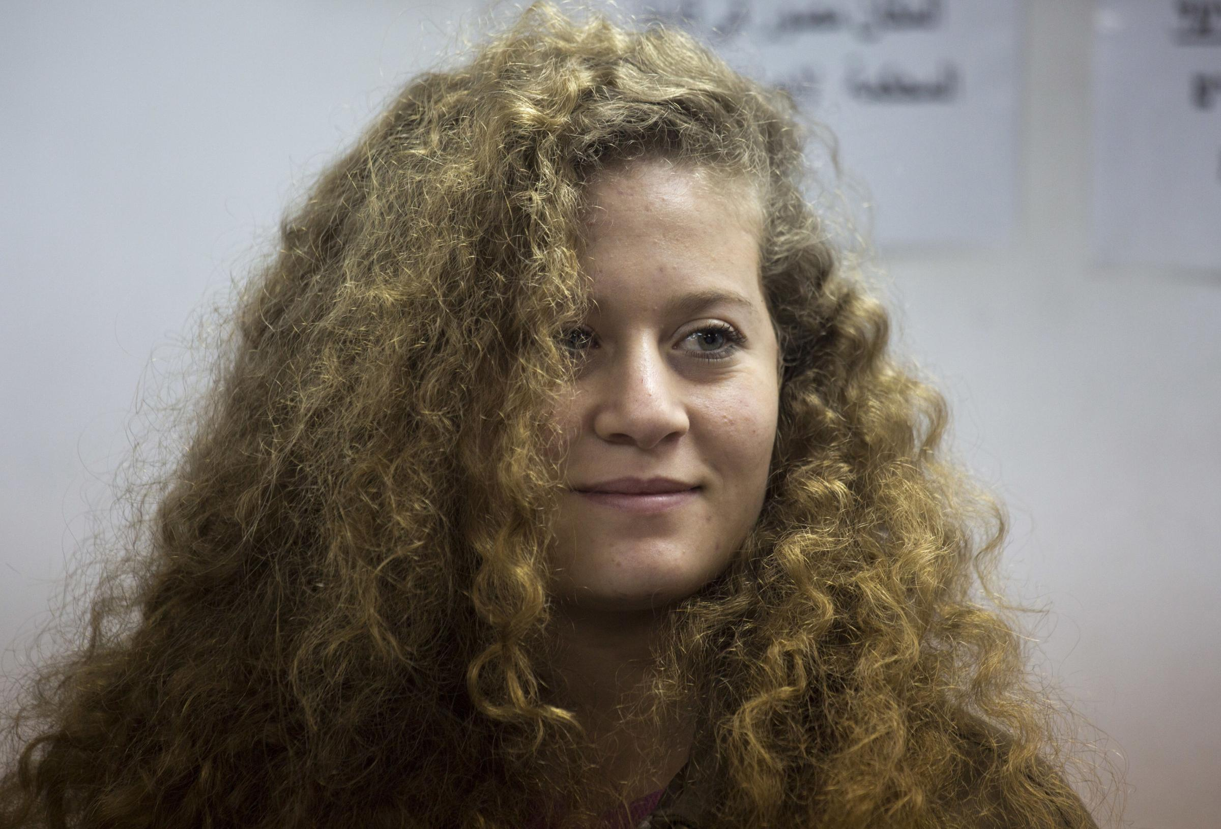 Ahed Tamimi has become an icon of protests against Israel