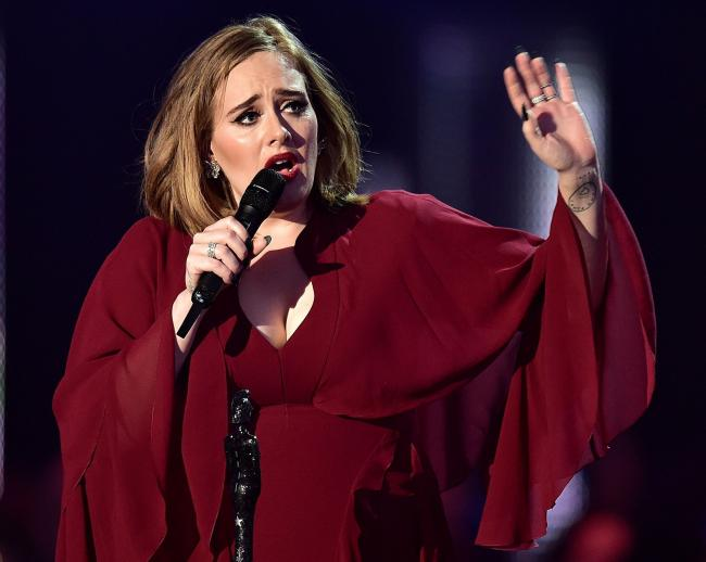 Figures published by the PRS revealed an increase of £77.5m payable to its members such as Adele last year, up 14.7 per cent on 2016