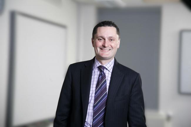 Professor Andrew Atherton took up the £300,000 role in January