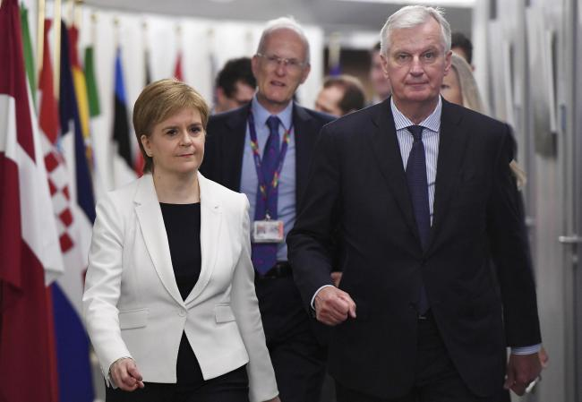 Nicola Sturgeon denied Foreign Office support during Brussels trip
