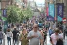 Scotland's high streets saw a 0.5% increase in footfall