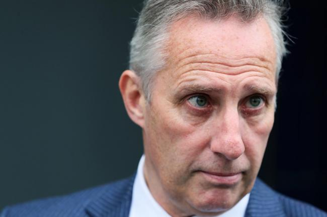 The DUP's Ian Paisley said he would like to see a no-deal option left on the table