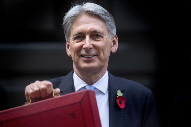 The National: Philip Hammond saw the deficit drop to less than 3%