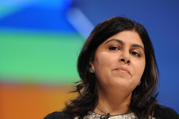 The National: Conservative peer Sayeeda Warsi: The party has a deep problem