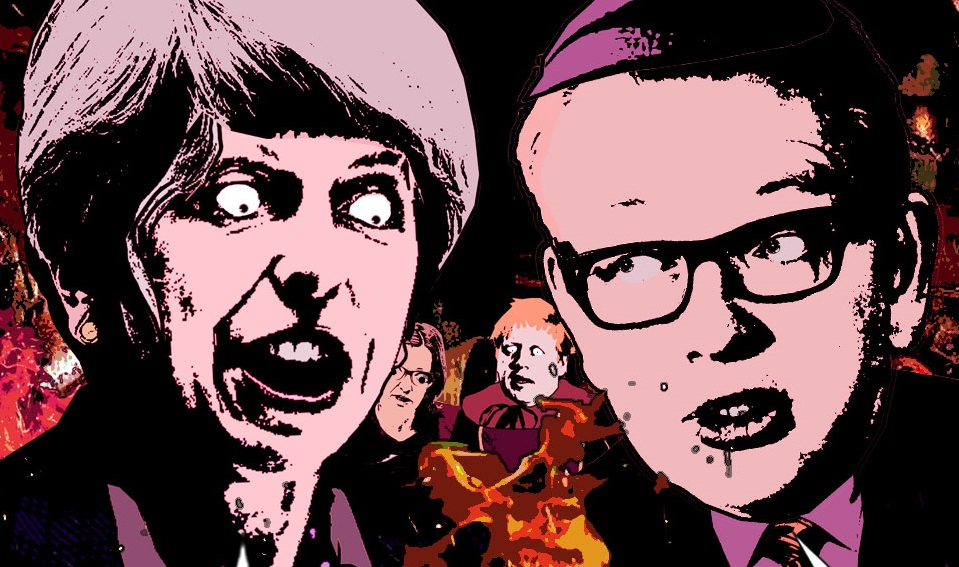 Once all the food and medicine is gone, will Michael Gove finally get ahead?