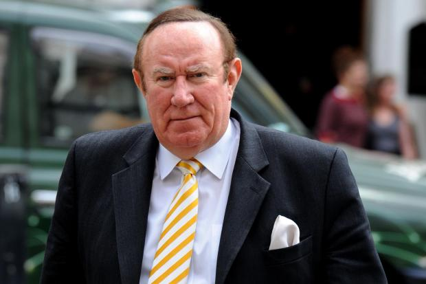 Andrew Neil tweeted the claims from the report by John McLaren – which have already been debunked by The National