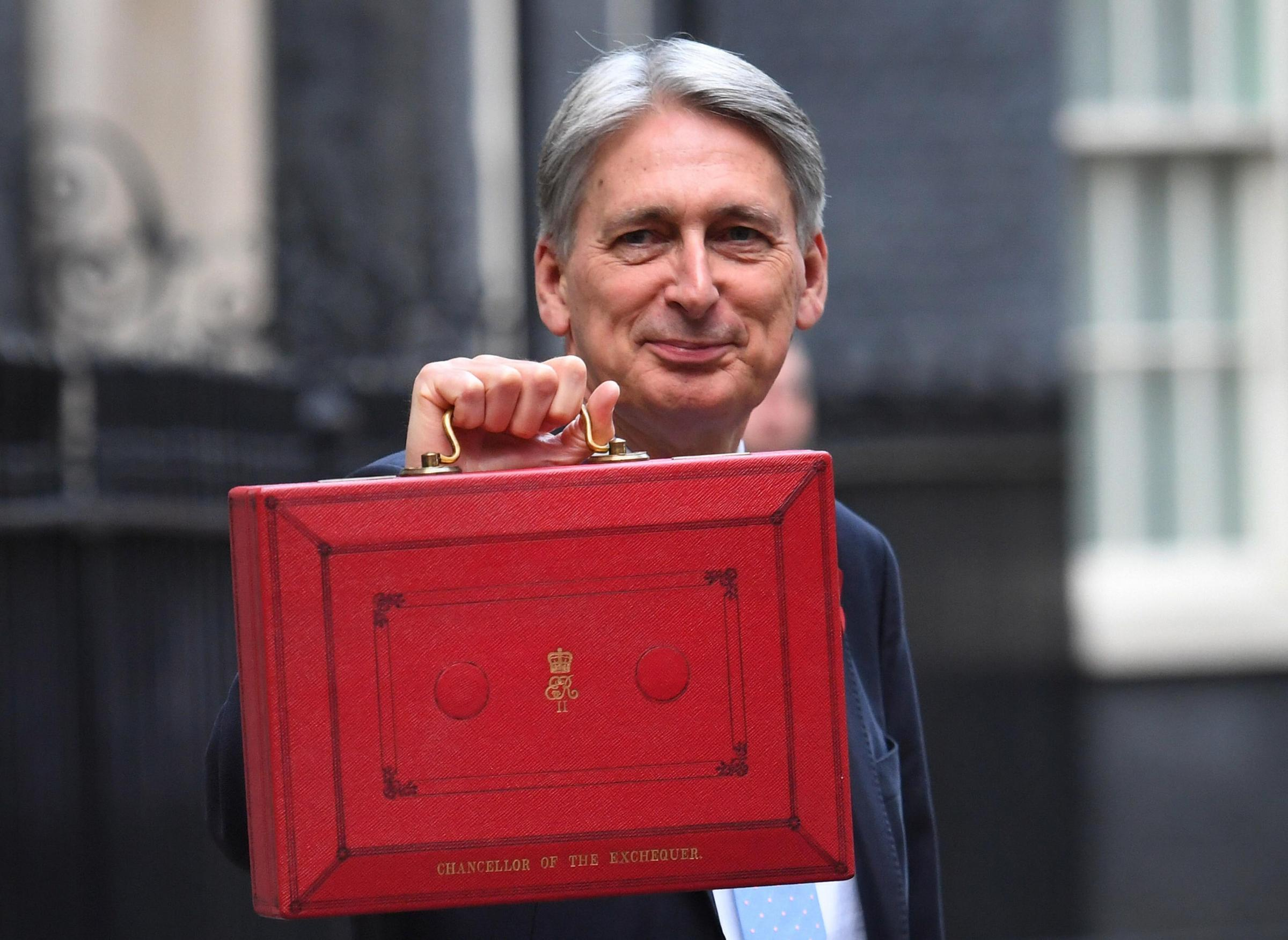 Chancellor Philip Hammond responded to criticism from an SNP MP in the Commons