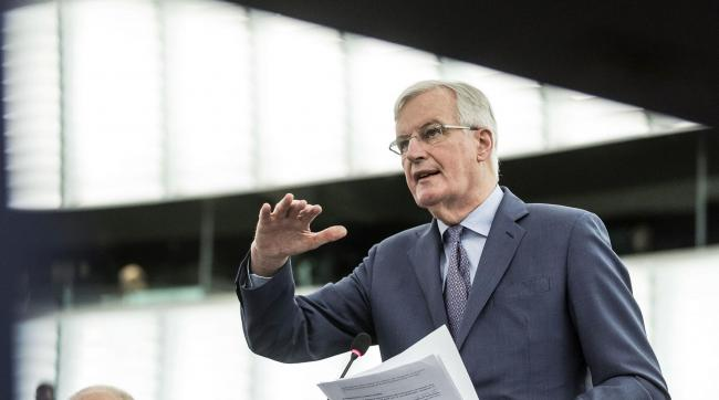 Michel Barnier said the negotiation is 'over'