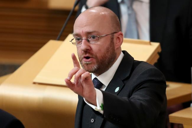 Patrick Harvie's party is on course to win a record 12% of the regional vote