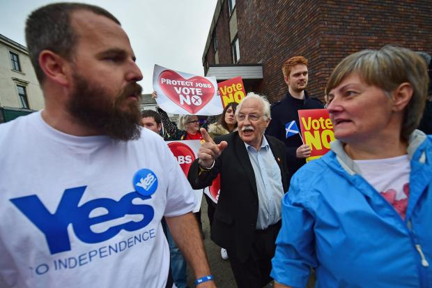 The idea of Better Together was to beat the pro-independence side once and for all