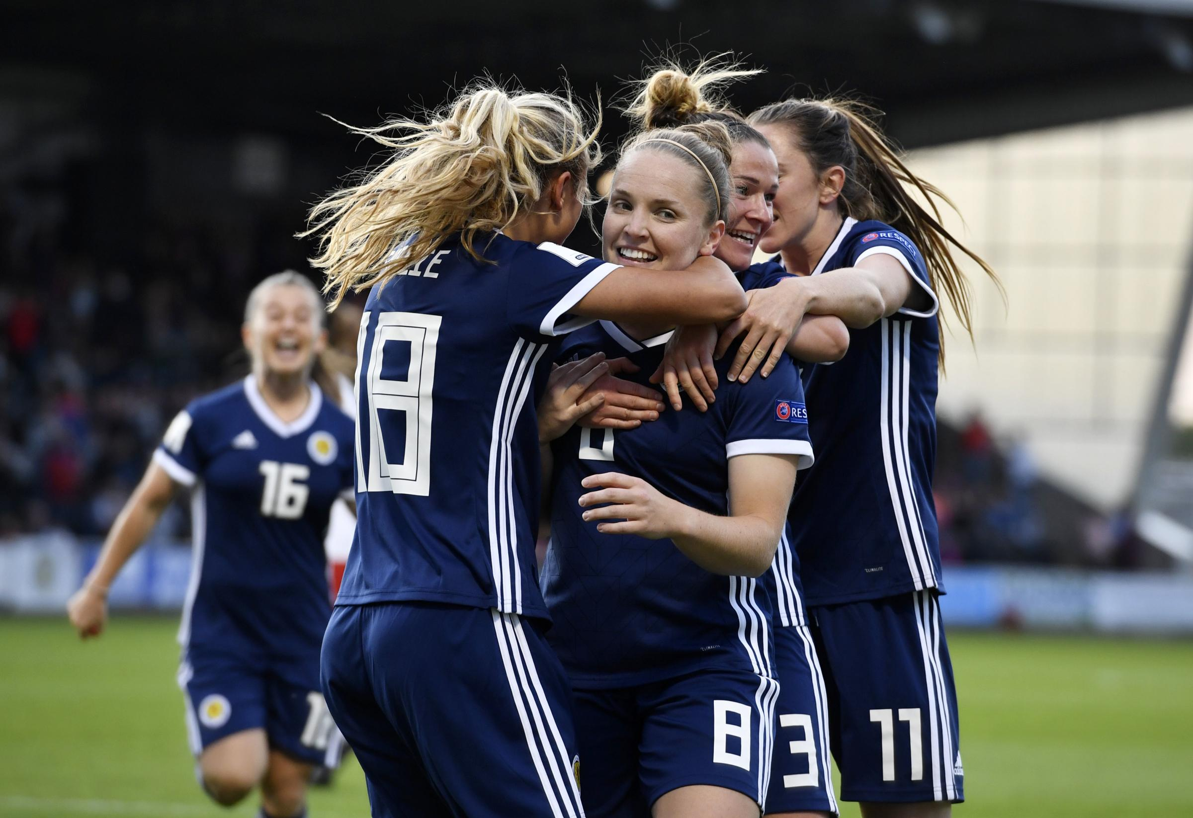 Kim Little hit the only goal as Scotland's women beat Brazil