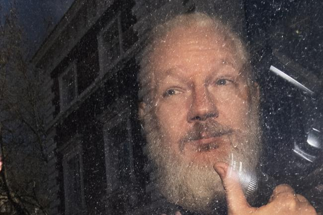 Julian Assange spent seven years in the embassy before being arrested