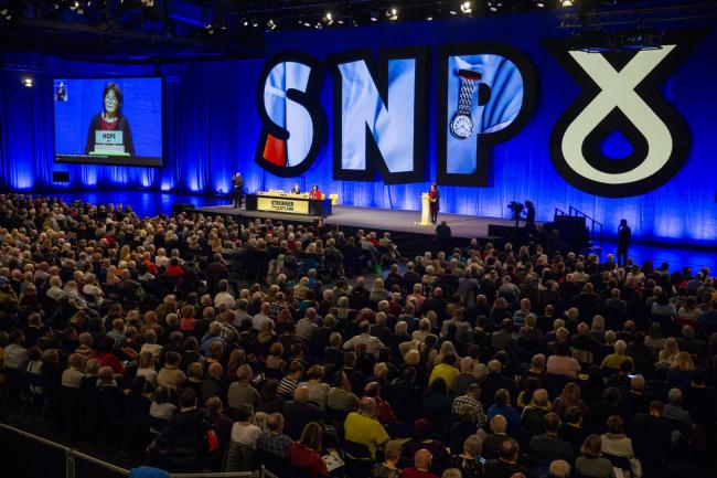 SNP conferences are packed these days
