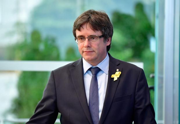 The National: Carles Puigdemont is also wanted by Spain
